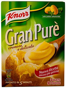 Piure de cartofi Knorr Gran Pure 225g