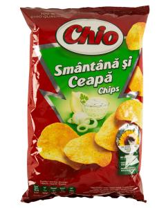 Chips cu smantana si ceapa Chio 100g