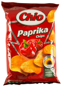 Chips paprika Chio 140g
