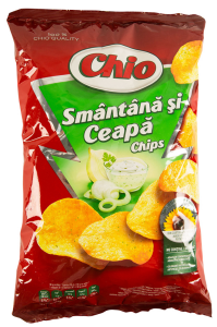 Chips cu smantana si ceapa Chio 140g