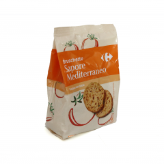 Bruschette cu arome mediteraneene Carrefour 150g