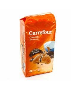 Croissant cu umplutura cu crema ciocolata Carrefour 270g