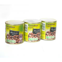 Fasoale boabe Carrefour 3x200g