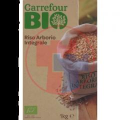 Orez arborio integral - biologic 1kg Carrefour