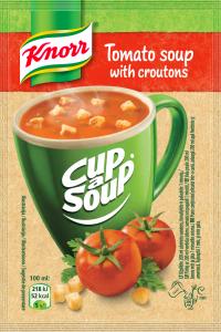Supa instant Crema de rosii cu crutoane Knorr Cup a Soup 19g