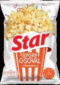 Popcorn cu cascaval Star 87g