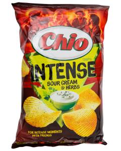 Chips Intense smantana si ierburi Chio 140g