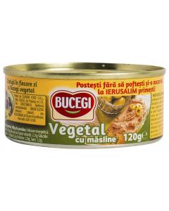 Pate vegetal cu masline Bucegi 120g