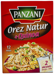 Orez natur + Quinoa Panzani 250g