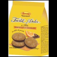 Turta dulce cu portocala si ciocolata Boromir 200g