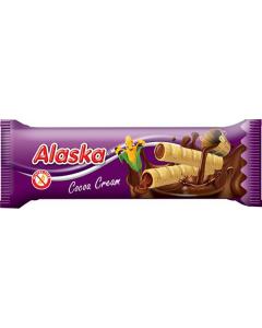 Rulouri din porumb umplute cu crema de cacao fara gluten Alaska 18g