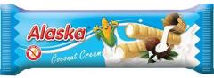 Rulouri de porumb umplute cu crema de cocos fara gluten Alaska 18g