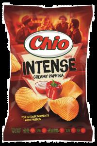 Chipsuri cu gust de smantana si ardei Chio 95g