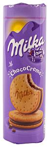 Biscuiti choco creme Milka 260g