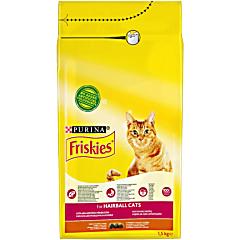 Hrana uscata pentru pisici cu pui si legume Friskies 1.5kg