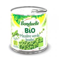 Mazare verde boabe Bonduelle Bio 340g
