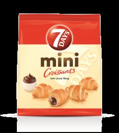 Mini croissant cu crema de cacao 7days 300g