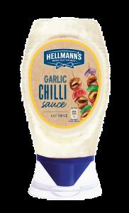 Sos usturoi& chilli  Hellmann`s 250ml