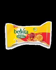 Biscuiti cu crema de capsune Belvita 50g