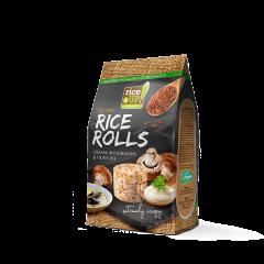 Mini-rondele de orez cu aroma de ciuperci & smantana Rice Up 50g