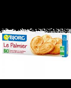 Biscuiti palmieri cu miere Bjorg 100g