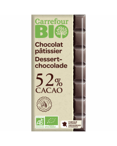 Ciocolata neagra Carrefour Bio 200g
