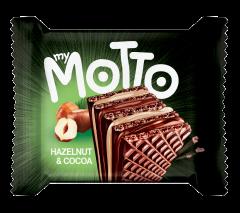 Napolitana cu crema de alune&cacao My Motto 34g