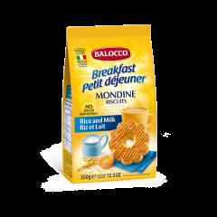 Biscuiti fara zahar cu faina de orez Balocco 350g