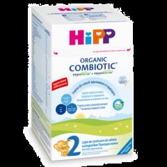Lapte de continuare Hipp 2 combiotic 800g
