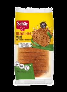 Paine proaspata cu cereale fara gluten Schar 350g