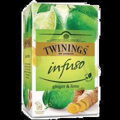 Ceai cu ghimbir&lime Twinings 20plicuri x 1.5g