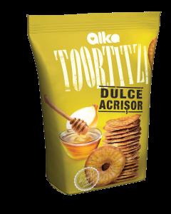 Toortitzi cu gust dulce acrisor Alka 180g
