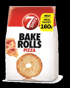 Rondele de paine crocanta cu pizza  Bake Rolls 160g