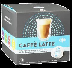 Cafea capsule Latte Carrefour 160g