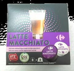 Capsule pentru cafea, Latte Macchiato Carrefour 192g