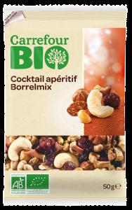 Amestec bio fructe 50g Carrefour Bio