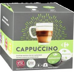 Capsule pentru cafea, Cappuccino Carrefour 193g