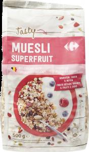 Musli cu fructe deshidratate si seminte Carrefour 500g