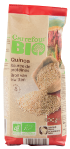 Quinoa Carrefour Bio 400g