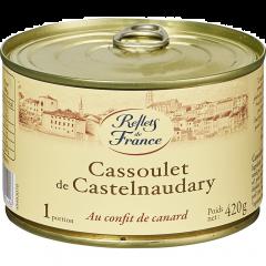 Preparat cu fasole cu carne de rata Reflets de France 420g