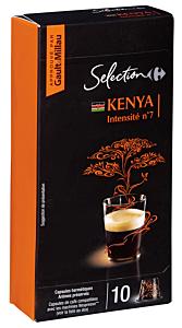 Capsule cu cafea Kenya Carrefour 52g