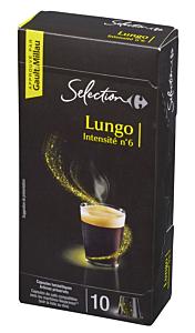 Capsule cu cafea lunga Carrefour 57g