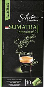 Capsule de cafea Sumatra Carrefour 52g
