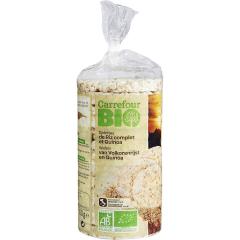 Rondele ecologice din orez 100g Carrefour Bio