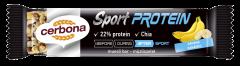 Baton din cereale cu banane Cerbona Sport Protein 35g