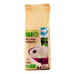 Orez basmati bob lung Carrefour Bio 500g