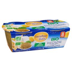 Aliment bio pentru copii Carrefour Bio 400g