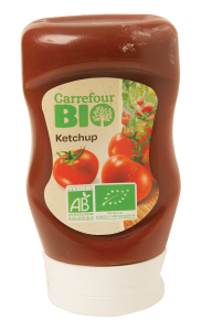 Ketchup Carrefour Bio 290g