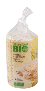 Tartine 4 Cereale Carrefour Bio 100g