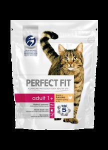 Hrana uscata cu pui pentru pisici adulte Perfect Fit 750g